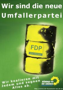 Wahlplakat Umfallerpartei
