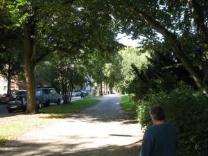 Blick in die Osterbekstraße
