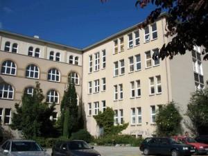 """Ehemaliges Gymnasium Uhlenhorst Barmbek """"Innenhof"""""""